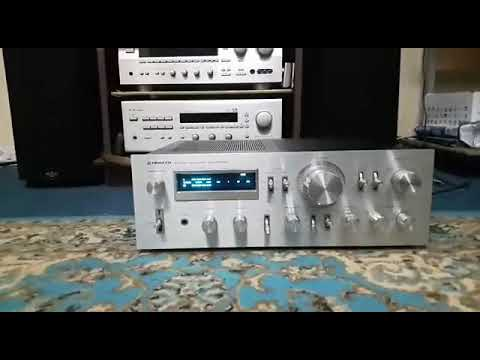 Klipsch Sp1 Speakers With Pioneer Sa8800 Denon Drw 695 Youtube
