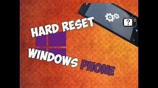 Hard reset Windows Phone. Cброс до заводских настроек Windows Phone