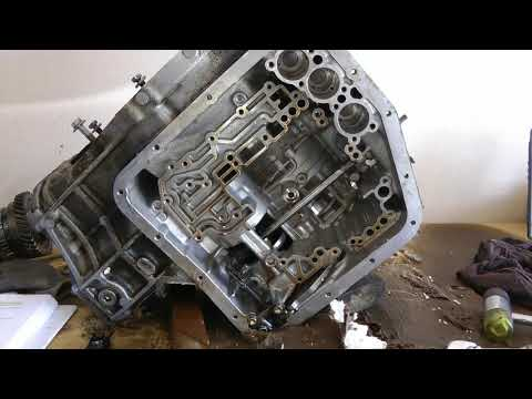 Part 4 (of 10) Transmission Teardown - Rebuild 1994 Toyota Camry Engine & Transmission 5SFE & A140E