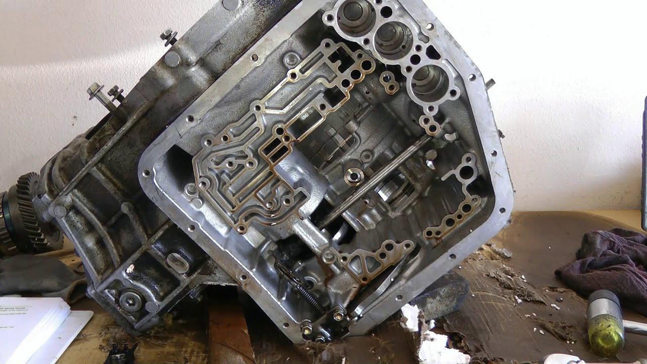 Part 4 (of 10) Transmission Teardown  Rebuild 1994 Toyota