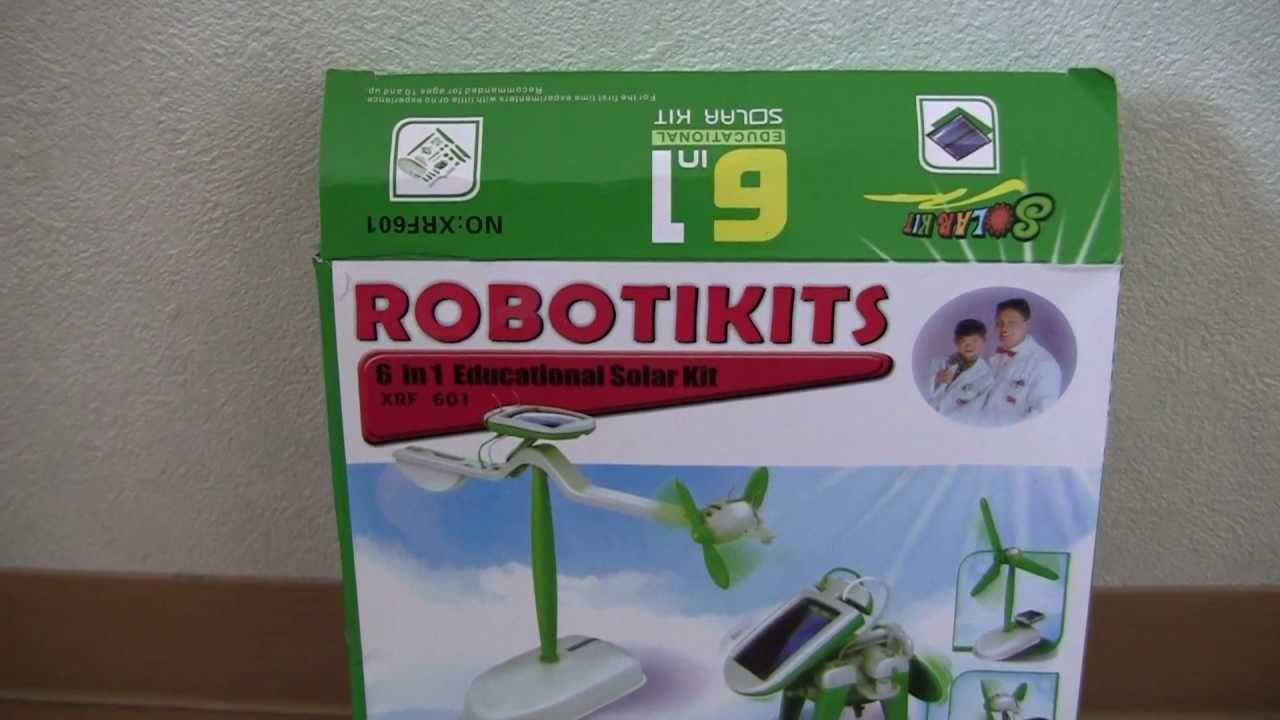 robotikits 6 in 1 solar kit instructions