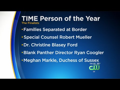 Time Magazine Releases Shortlist For 2018 Person Of The Year Award