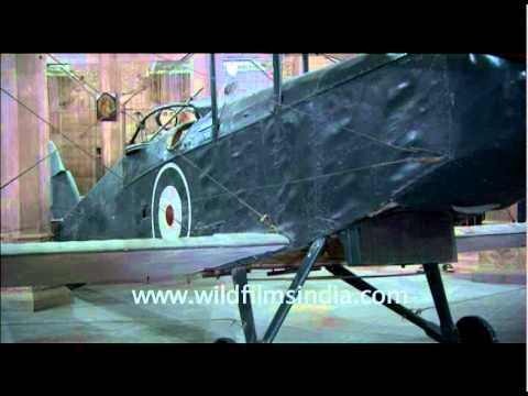 de Havilland plane in Junagarh Fort, Bikaner