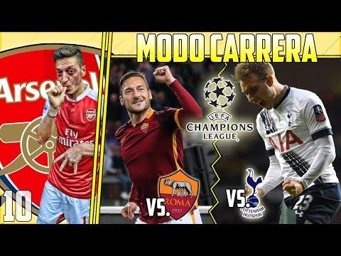 ¡DANDOLO TODO HASTA EL FINAL! #10 - MODO CARRERA - ARSENAL - FIFA 17 - 동영상