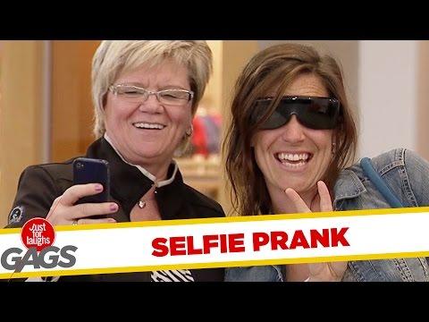 Blind Woman Selfie Gone Wrong