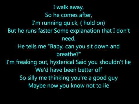 cheryl cole ft august rigo better to lie lyrics