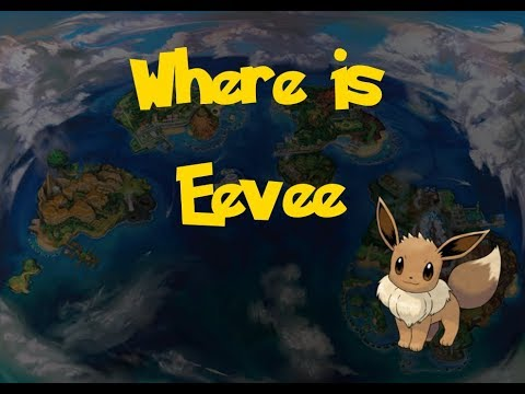 how to get eevee in pokemon ultra sun