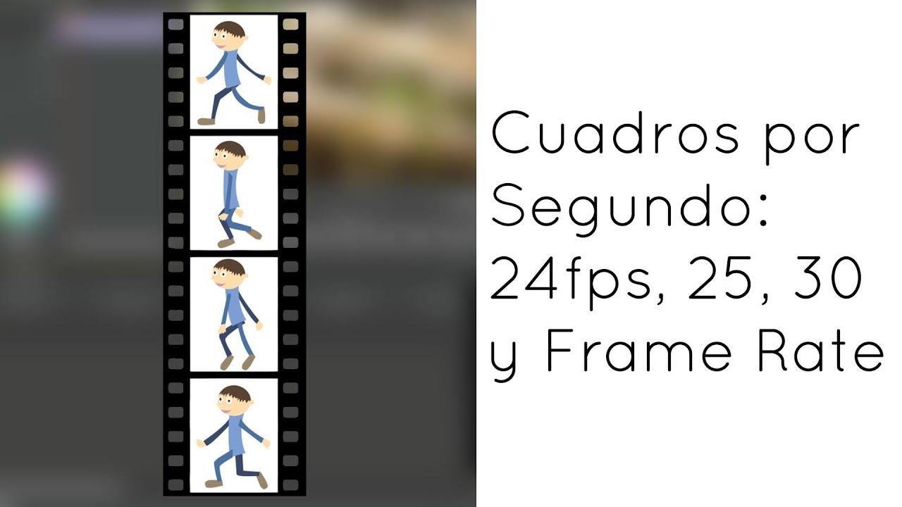 Cuadros por Segundo: 24fps, 25, 30 y Frame Rate en Video - YouTube