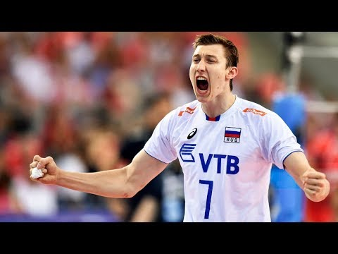 TOP 15 Crazy Actions by Dmitry Volkov vs Belgium | European Men's Volleyball Championships 2017