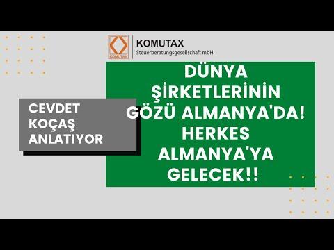TÜM ŞİRKETLER ALMANYA'YA GELMEK İSTİYOR! ÇÜNKÜ (Yeminli Mali Müşavir Cevdet Koçaş anlatıyor)