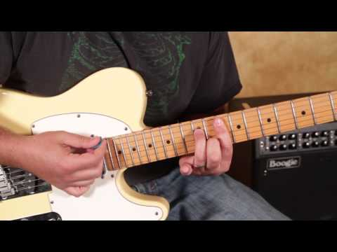 Doobie Brothers -  Long Train Runnin -  guitar Lesson -  How to Play