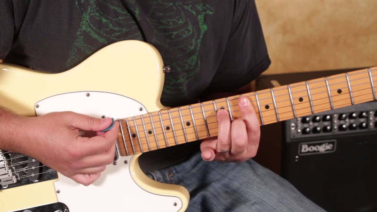 Doobie Brothers Long Train Runnin Guitar Lesson How To Play