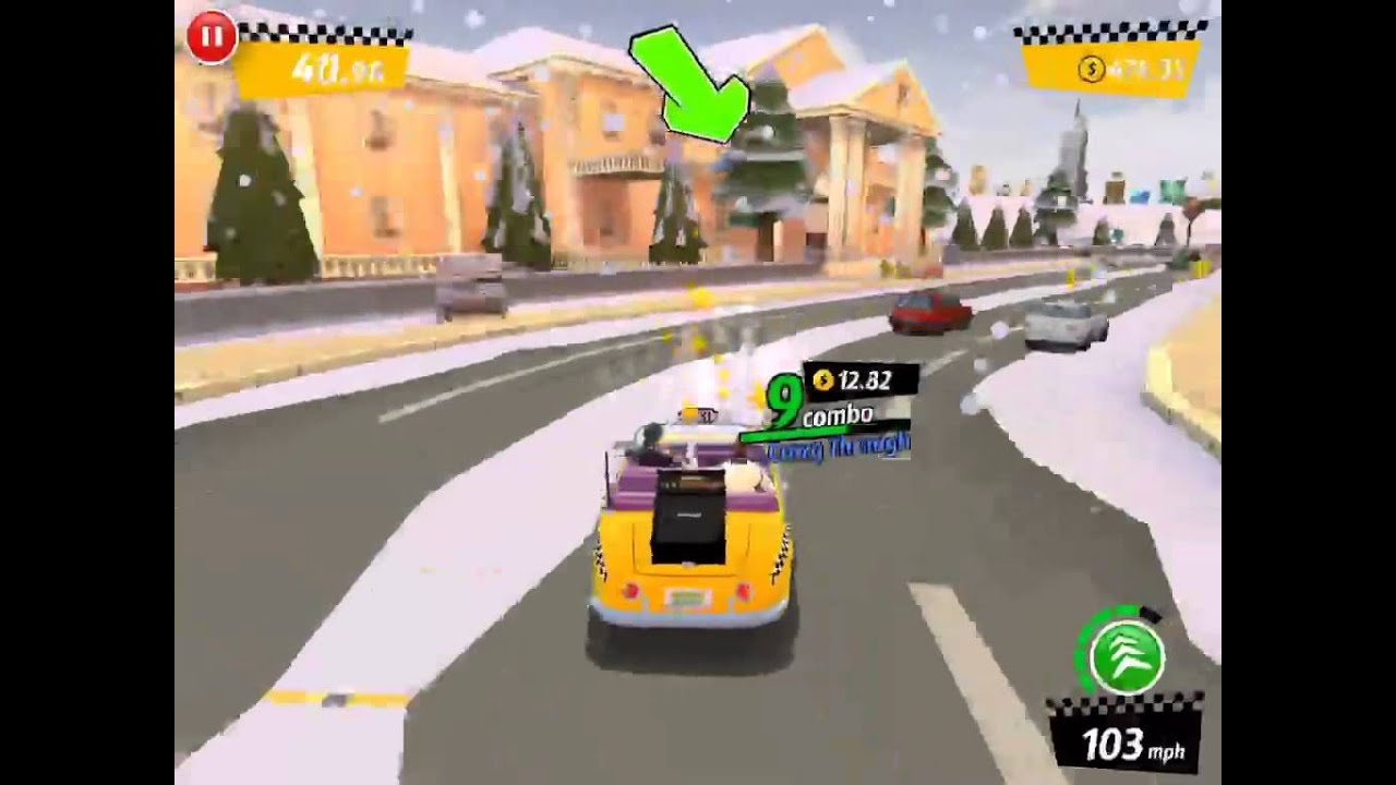 [SEGA Crazy Taxi: City Rush] Facebook Social Mission in ...