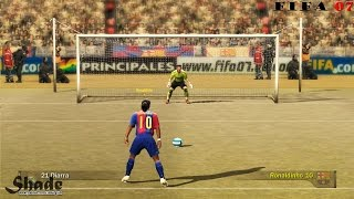 Penalty Kicks From FIFA 94 to 17