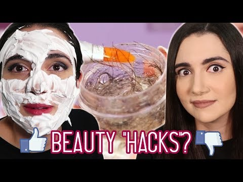 "Trying Clickbait Beauty ""Hacks"" From Facebook"