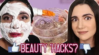 "Trying Clickbait Beauty ""Hacks"" From Facebook thumbnail"