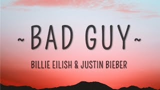 Baixar Billie Eilish, Justin Bieber - bad guy (Lyrics)