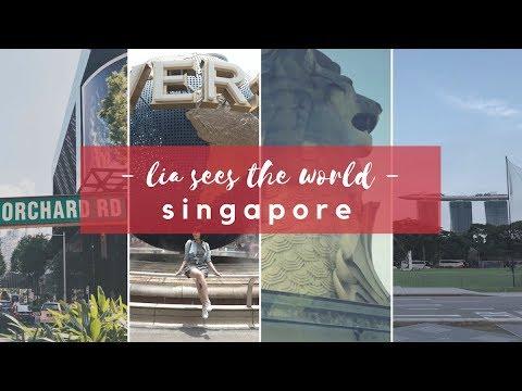 VLOG: Singapore 2018 — Lia Sees The World