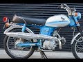 1971 Honda CL70 Cold Start