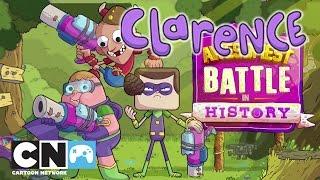 Clarence | wir Spielen Die schlacht brutale geschichte | Cartoon Network