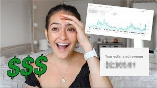 How Much Money YouTube Has Paid Me (total) *NOT CLICKBAIT*