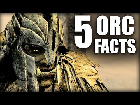 Skyrim - 5 Orc Facts - Elder Scrolls Lore