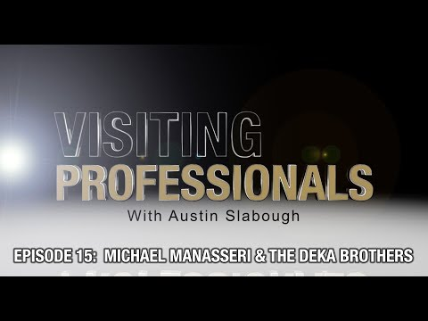 Visiting Professionals: Michael Manaserri & The Dekas Bros (Filmmakers)