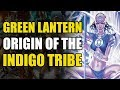 origin of the indigo lanterns green lantern blackest night origins