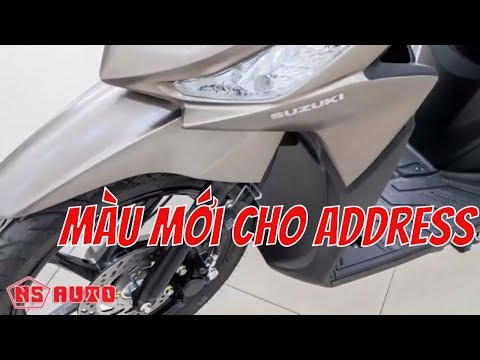 Motorcycle# Suzuki ADDRESS Thêm MÀU MỚI Bắt Mắt Hơn / NS Auto