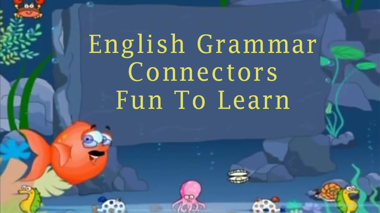hight resolution of English Grammar   Connectors   Fun To Learn - YouTube