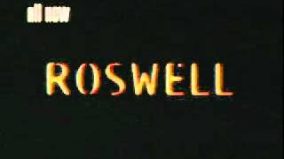 Roswell Season 1 Promos (Part 1)