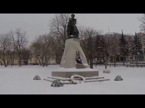 Открытие Памятника Лермонтову в г.Отрадный