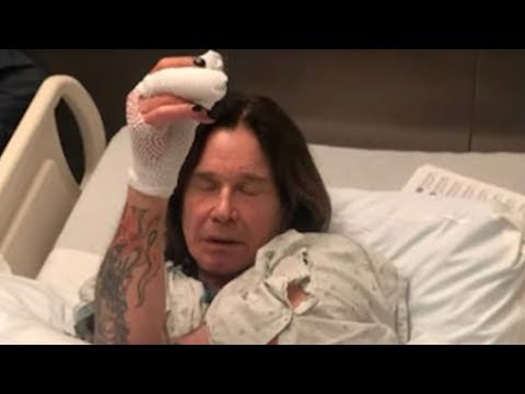 Aimee - Ozzy Hospitalized, Cancels Tour