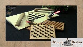 Making Router Table Trivets and Jig
