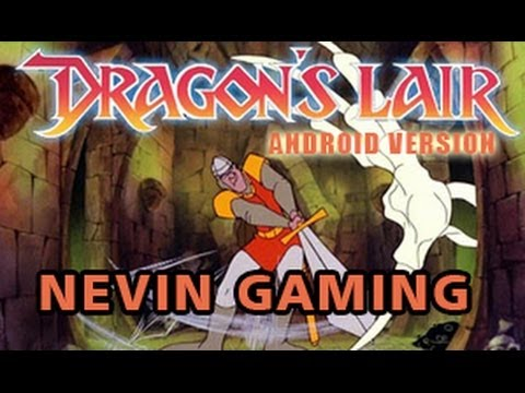 Let's Play DRAGON'S LAIR Android version Game ( Nevin Gaming )