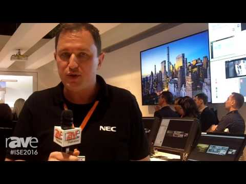 ISE 2016: NEC Display Talks About New Version of Hiperwall 4.0