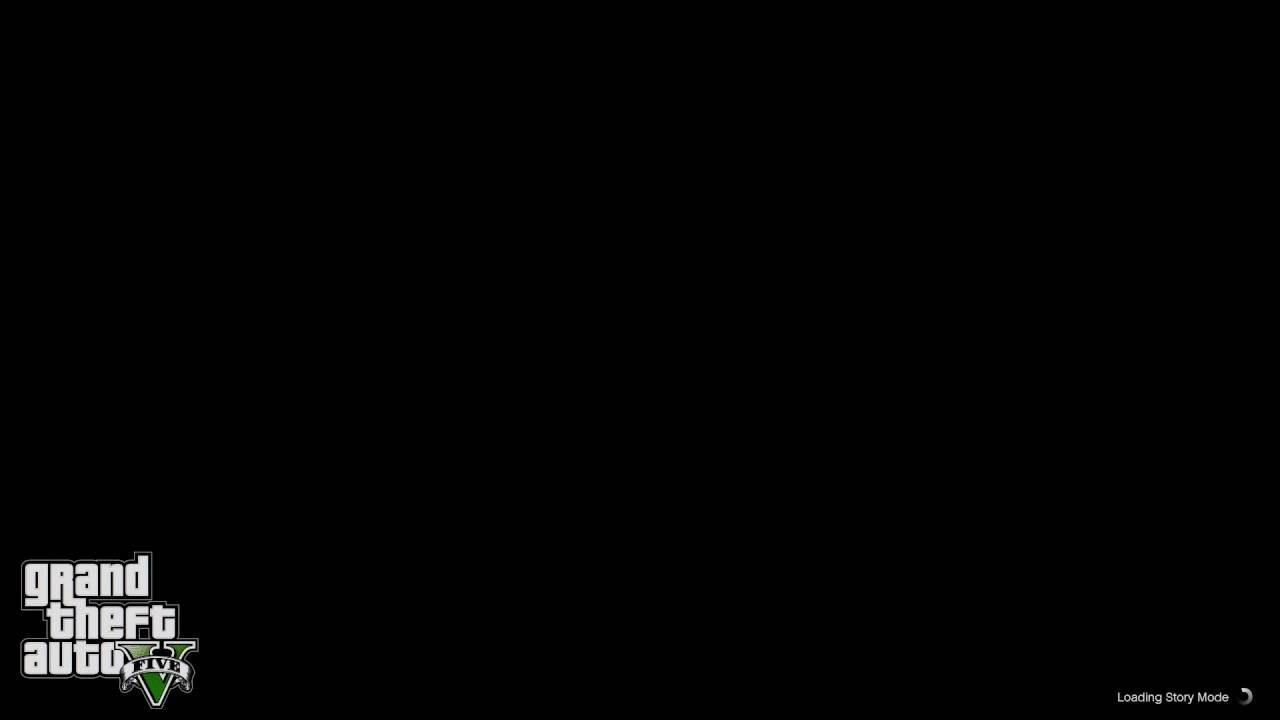 Grand Theft Auto V Infinite Loading Black Screen