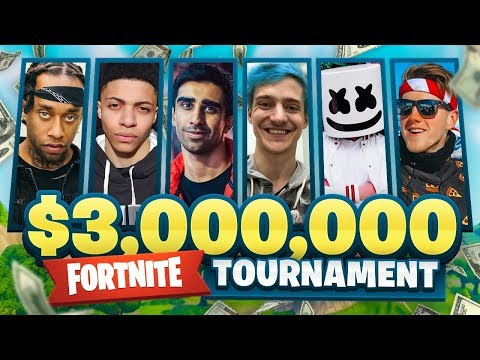 $3,000,000 FORTNITE Pro Am ft. Vikkstar, Marshmello, Lachlan, Ninja, Ali-A & More! Mp3