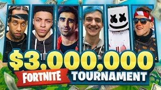 $3,000,000 FORTNITE Pro Am ft. Vikkstar, Marshmello, Lachlan, Ninja, Ali-A & More!