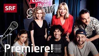 Comedy Talent Show mit Lisa Christ, Deville, Regensburg, Ivanic, Hügi, Ramirez | S1 | SRF Comedy