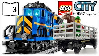 LEGO CITY 60052 Cargo Train Video Instructions 3