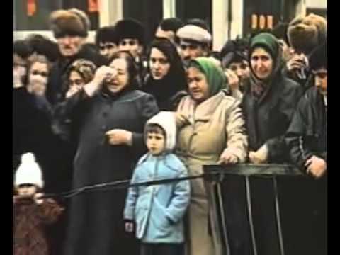 Армянский погром в Баку в 1990 г
