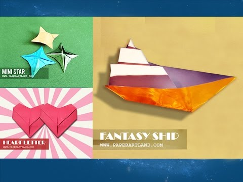 Origami for Kids - How to Make 5+ Simple Interactive Origami [Can you name them all?]