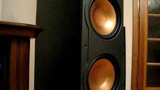 Klipsch Rf 82 With Harman Kardon Avr 460 Basstronics Bass I LOVE YOU
