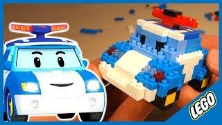 Лего. Робокар Поли. LEGO. Cartoon Robocar. 로보카 폴리