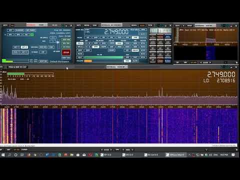 VCO Sydney radio Nova Scotia Canada Marine Weather 2749 kHz USB Mediumwave