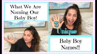 Baby Names We Love But Won't Be Using|Our Baby Name Reveal!