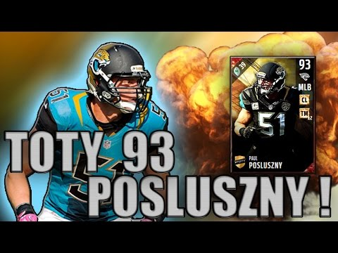 GOT 93 OVR PAUL POSLUSZNY | HILL WITH THE RETURN! - MADDEN NFL 17 ULTIMATE TEAM
