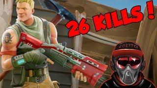 💀 ¡SOLO vs SQUAD, 26 KILLS WIN! #1 💀 ~ FORTNITE