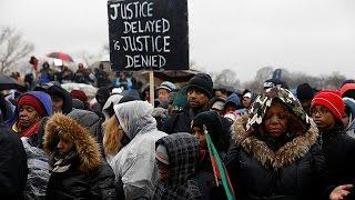 Антитрамповские  протесты в США